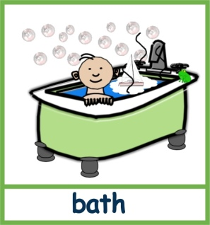 Bath - phonics section