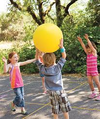 big ball game 4 children