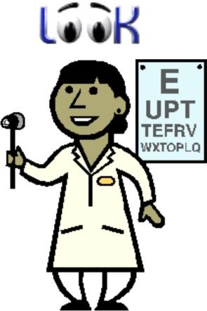 Eye test 1